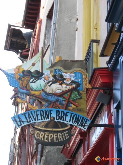 Enseigne crèperie bretonne
