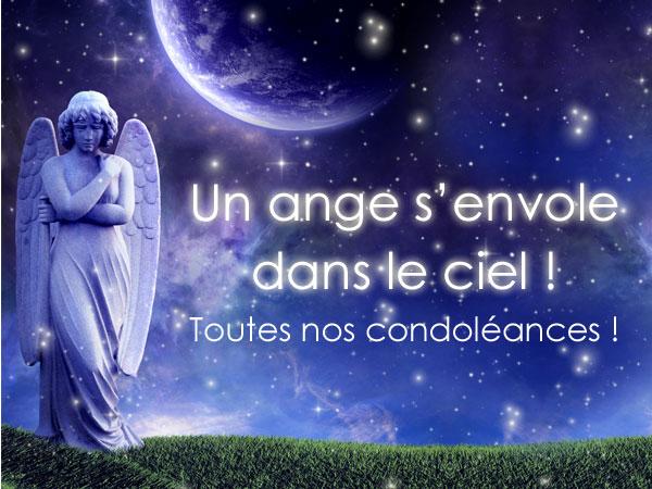 """Résultat de recherche d'images pour """"images condoléances anges"""""""