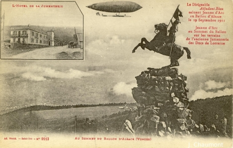 Au Sommet du Ballon d'Alsace
